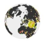timeglo.be: Cartographie dynamique des évènements historiques dans le monde