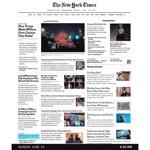 #Orlando évolution de la Une du NewYork Times
